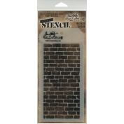 Tim Holtz Layered Stencil 4.1213cm X8.5in Bricked
