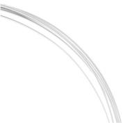 Sterling Silver Wire Half Round Half Hard 22 Gauge 1.5m