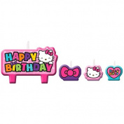 Hello Kitty Rainbow Candle Set