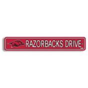 NCAA Arkansas Razorbacks Street Sign