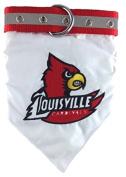 Mirage Pet Products Louisville Cardinals Bandana for Dogs and Cats, Large