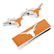 University of Texas Longhorns Cufflinks and Money Clip Gift Set