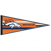 Denver Broncos Official NFL 30cm x 80cm Felt Pennant by Wincraft