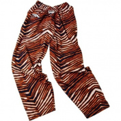 Denver Broncos ZUBAZ Navy Orange Vintage Style Zebra Pants