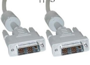 Aptii 2m DVI-D Male to DVI-D Male Single Link Cable 2m 18+1 pins