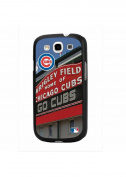 MLB Chicago Cubs Wrigley Field Sign Stadium Collection for Samsung Galaxy S3 Hard Case