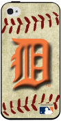 MLB Detroit Tigers Iphone 4/4s Hard Cover Case Vintage Edition