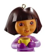 Carlton Cards Heirloom Dora the Explorer with Yellow Tea Cup Christmas Ornament