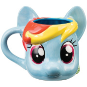 My Little Pony Rainbow Dash Sculpted Glazed Ceramic 530ml Mug