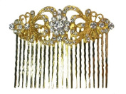 Gorgeous Clear Crystal Hair Comb Bridal Bridesmaid Wedding Party Prom G345