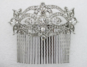 Huge Hair Comb Clear Crystal For Bridal Bridesmaid Wedding Party Prom