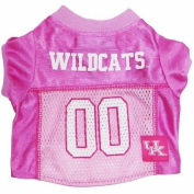 Mirage Pet Products Kentucky Wildcats Jersey for Dogs and Cats, Medium, Pink