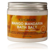 Royal Massage EU Green Bath Salt, Mango Mandarin, 590ml
