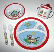 Mealtime Set - A Saviour Is Born - Red