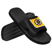 Boston Bruins NHL Men's Shower Slide Flip Flops Small