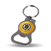 Boston Bruins Official NHL 7.6cm Bottle Opener Key Chain Keychain by Rico Industries