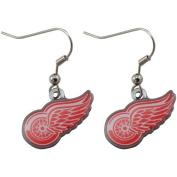 Detroit Red Wings - NHL Team Logo Dangler Earrings