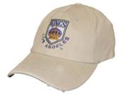 Los Angeles Kings Retro Brand Beige Worn Vintage Flexfit Hat Cap