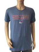New York Rangers Retro Brand Blue Red Vintage Style NHL T-Shirt
