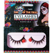 Red Gem Day of the Dead Eyelashes