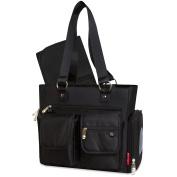 Fisher Price Front Pocket Tote Nappy Bag - Black