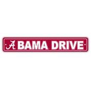 NCAA Alabama Crimson Tide Street Sign