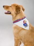 Mirage Pet Products Kansas Jayhawks Bandana for Dogs and Cats, Medium