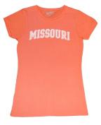Missouri Tigers Gear Co.ed Women's Orange Short Sleeve T-Shirt