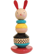 Wooden Stacking Toy - Modern Bunny