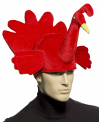 Red Turkey Plush Hat
