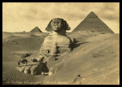 """PH02 Vintage 1800's Photo Egypt Egyptian Sphinx Pyramids Photograph Poster Re-Print - A3 (432 x 305mm) 16.5"""" x 11.7"""""""