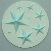Stars - Silicone Icing Moulds for Cake and Cupcake Decoration