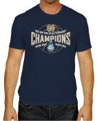 Notre Dame Fighting Irish 2015 ACC Tournament Champions Navy T-Shirt