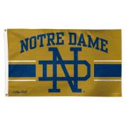 Notre Dame Fighting Irish Official NCAA Vault Deluxe Banner Flag Wincraft 086433