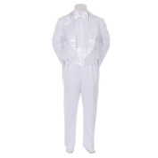 Kids Dream White Formal 5 pcs Tail Special Occasion Boys Tuxedo 25M