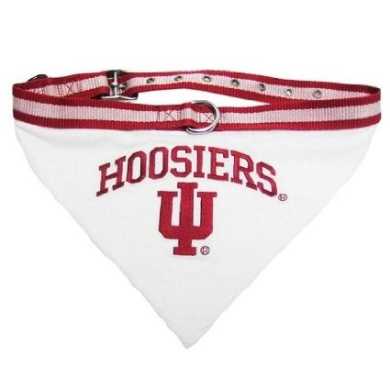 Mirage Pet Products Indiana Hoosiers Bandana for Dogs and Cats, Medium