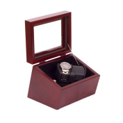 American Chest WW02-M Admiral Double Watch Winder Mahogany