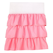 Sadie & Scout You Are So Sweet Dust Ruffle - Rose Pink