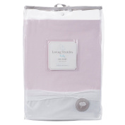 Living Textiles Baby Pink Bedskirt