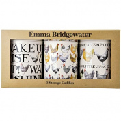 Emma Bridgewater Hen & Toast Design Storage Tin Set