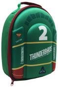 """Thunderbirds Outer Polyester Inner PEVA """"Thunderbirds 5.1cm 3D Lunch Bag"""