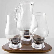 Glencairn Whisky Glass Tasting Set, Water Jug and Tray. Made in Scotland