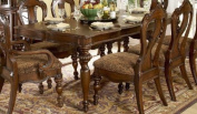 Homelegance Prenzo Rectangular Dining Table in Warm Brown Finish