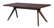 Kardiel Audrey Mid-century Modern Dining Table, Ash Wood