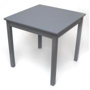 Lipper International Child's Table- Grey