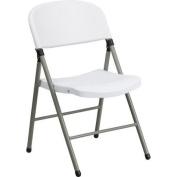 Grey White Folding Chair