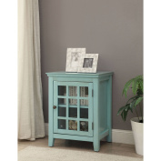 Largo Antique Single Door Cabinet,Multiple Colours