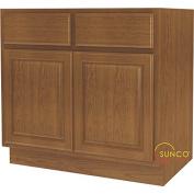 Kitchen Cabinet Base 2-Dr 90cm