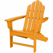 Hanover Outdoor Furniture All-Weather Contoured Adirondack Chair, White