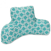 Majestic Home Goods Links Reading Pillow - Teal